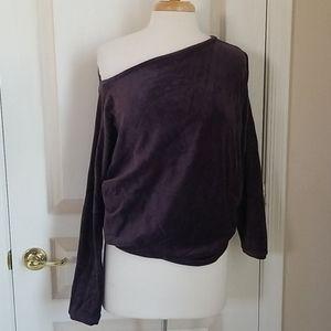 Victoria Secret off the Shoulder royal purple top